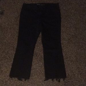 Black Flare Jeans